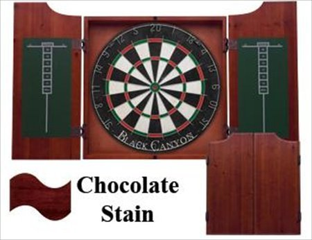 CueStix 40-0600 Chocolate Cabinet