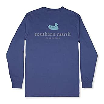 Southern Marsh Ls Authentic, Bluestone, X-Small
