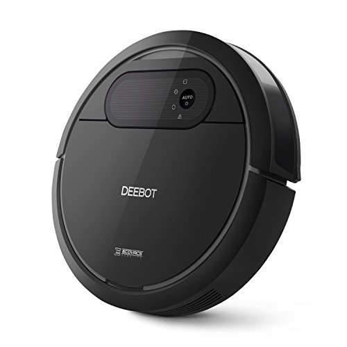 ECOVACS Deebot N78 Robot Vacuum Cleaner with Direct Suction, Sensor Navigation for Pet Hair, Fur, Allergens, Thin Carpet, Hardwood and Tile Floors (Certified Refurbished)