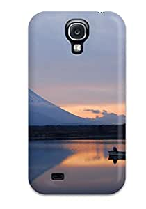 Tpu Case Cover Compatible For Galaxy S4/ Hot Case/ Mountain Earth