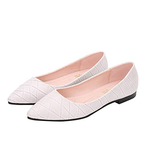 slip work flat shoes single shoes non casual FLYRCX EU shoes comfortable maternity 41 ladies Fashion qwx10tTI