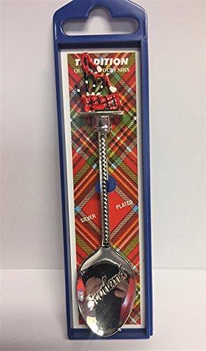 Scotland Bagpipes Souvenir Teaspoon
