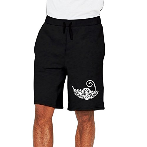 Monkey Logos And Cartoon Monk Short Short Pants