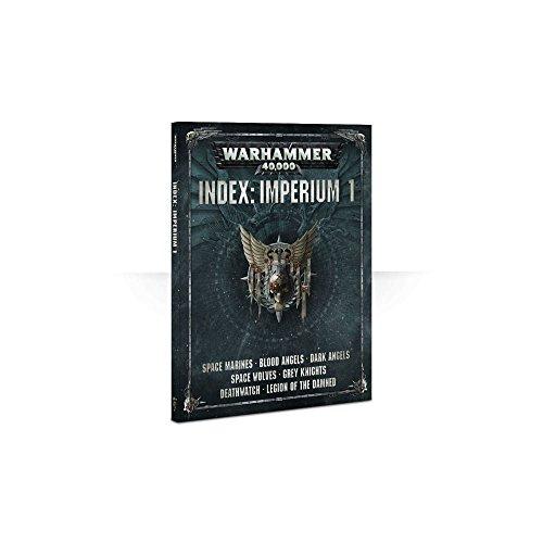 Games Workshop Index: Imperium 1 Warhammer 40,000 Book (Black Templar Space Marines)