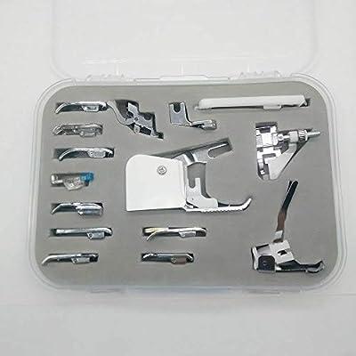 YICBOR - Juego de 15 prensatelas para máquina de coser Brother ...