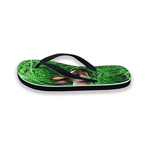 Per Te Design Calzature Unisex Uomo Donna Divertente Moda Slip On V Infradito Sandali Scarpe Da Spiaggia Coniglio