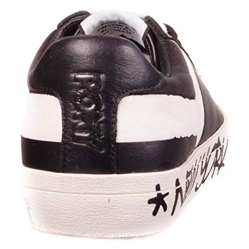 634jponyf3 negro Pony Hombre Blanco Sneakers q4naa6AwxB