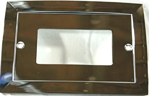 Allen + Roth Single Decorator Rocker Polished Chrome Cover #74948 (Allen Roth Covers)