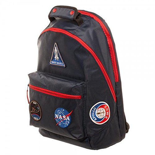 Buzz Aldrin NASA Patches Laptop Backpack