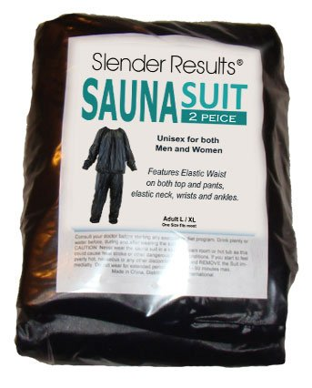 SLENDER RESULTS XL Sauna Suits - Weight Loss, Inch Loss, Fitness, Gym Suit by SResults