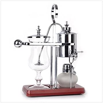 Máquina de café manual hogar café de pote belga regalo caja fija ...
