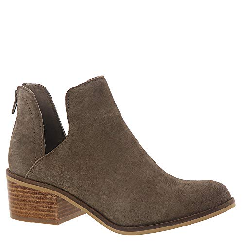 Women's Casual Bootie Taupe Suede Madden Lancaster Steve 5 6 Us f1aqn5Yx