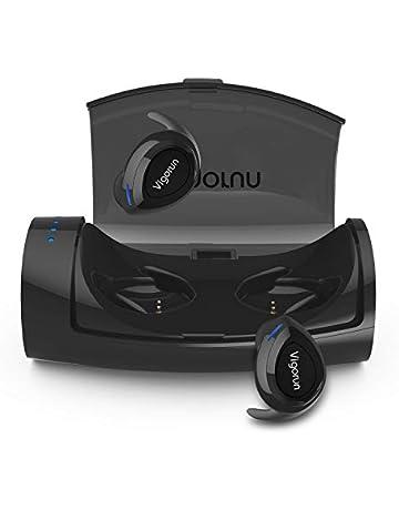 Auriculares Bluetooth Inalámbricos Vigorun In-Ear Mini Auriculares Stéreo con Caja de Carga y Micrófono