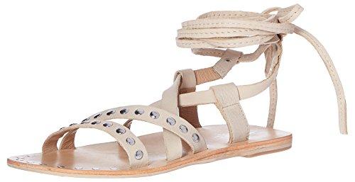 CHARLES BY CHARLES DAVID Women's Steeler Gladiator Sandal, Nude, 10 M US