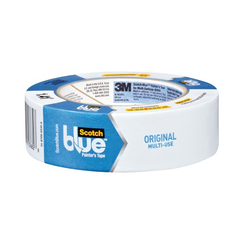 ScotchBlue Painter's Tape, Multi-Use, 1.41-Inch by 60-Yard, 4-Roll