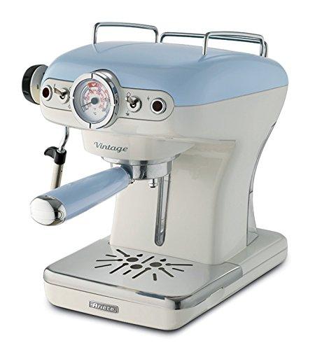 Ariete 1389 Cafetera Espresso Vintage, Color Azul, 900 W, 0.9 litros, plástico