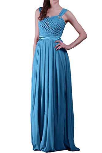 para Topkleider trapecio Azul Vestido mujer wHH1EqAx
