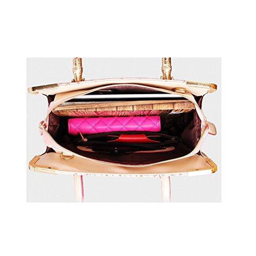 3pcs de cuero del hobo del bolso Xagoo de hombro de la vendimia con la correa de hombro del mensajero y pequeño bolso de mano (Estilo 3) Estilo 4