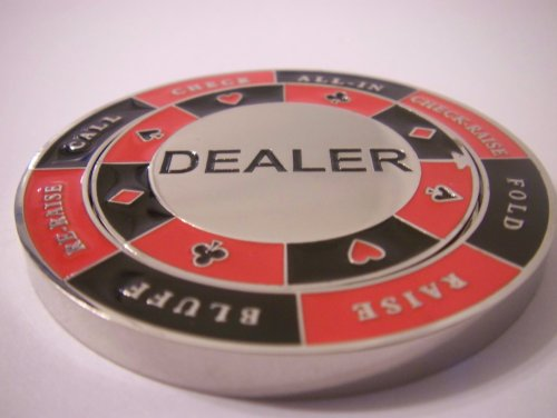 Spinning Dealer Button