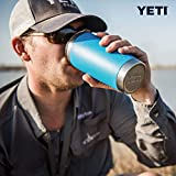 YETI Rambler 20 oz Tumbler, Stainless Steel, Vacuum Insulated with MagSlider Lid, Reef Blue