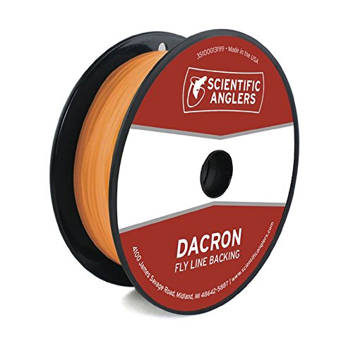 Scientific Anglers Backing Dacron Fly Line, White, 20 lb/100 yd
