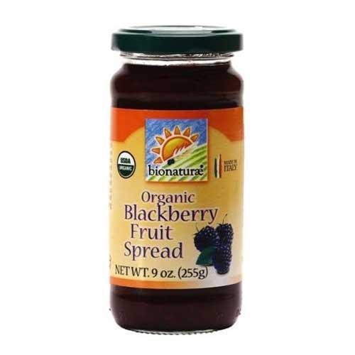 BIONATURAE FRUIT SPREAD BLCK BERRY, 9 OZ by bionaturae