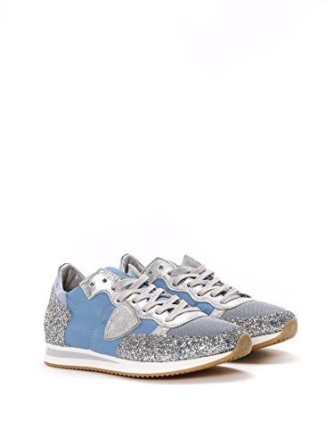 Philippe Model Sneakers Donna TRLDGT07 Pelle Azzurro