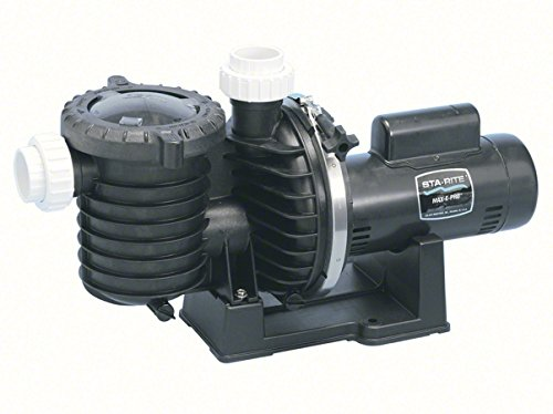 Pentair Sta-Rite P6EAA6G-208L Max-E-Pro Energy Efficient Single Speed Up Rated Pool and Spa Pump, 2-1/2 HP, 230-Volt by Pentair