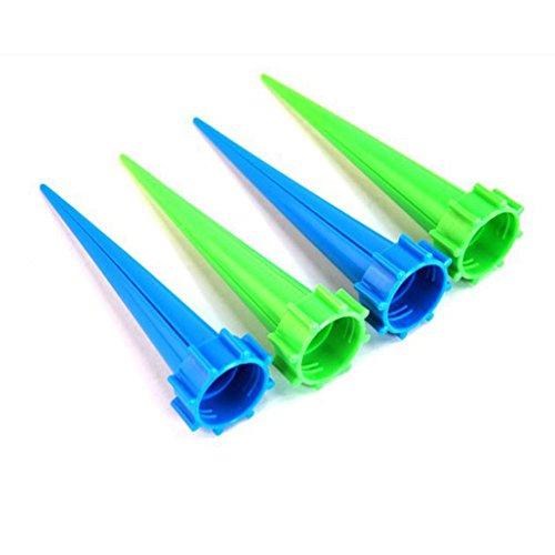 Zehui 4PCS Herramienta para regar, riego automático, Pretty Plastic Automatic Flower Watering Tool Jardinería Accesorios...