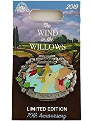 Disney Pin - 70th Anniversary - Mr. Toad The Wind in the Willows