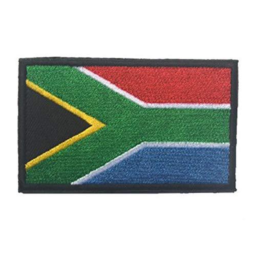 Amazon.com: showplus África Bandera Militar Parche de Velcro ...