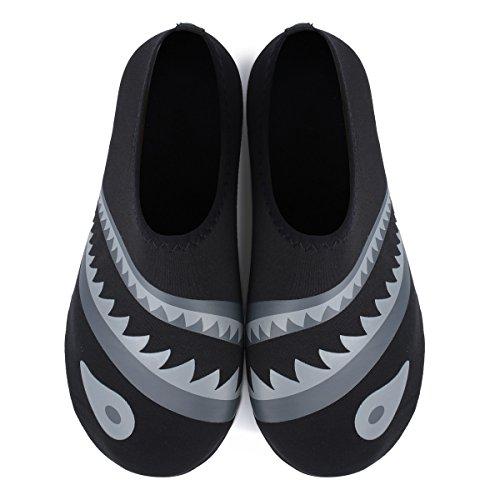 Beach Unisex Shark Shoes Water Dive Yoga L Barefoot Surf Shoes RUN for Run Swim Skin qx56Y7Zw6