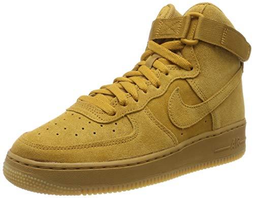 Nike Air Force 1 High Lv8 Big Kids Style : 807617-701 Size : 6 Y US (Air Brown Force 1)