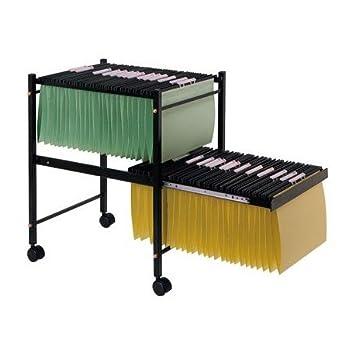 Q-Connect Carrito para Carpetas Colgantes Color Negro KF15266: Amazon.es: Juguetes y juegos