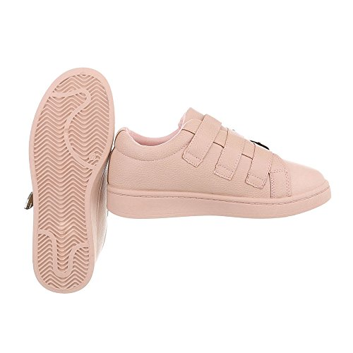 mode femme Sneakers Plat Ital Design low Baskets Espadrilles Chaussures 1wdEHqH