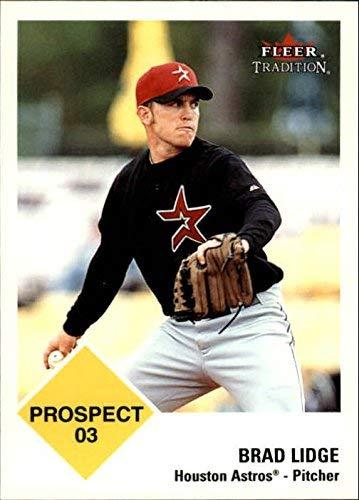 2003 Fleer Tradition #432 Brad Lidge PR MLB Baseball Trading Card from Fleer Tradition