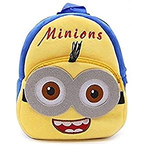 KIDOFLY Swati Toy Kids School Bag Soft Plush Backpack Cartoon Carry-Bag |Birthday Gift for Boy and Girl | Durable School Bag for Kids (Age 2-6 Years)