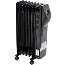 Comfort Zone Digital Electric Oil-Filled Radiator Heater CZ9009-1500/900 Watt