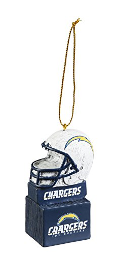 Team Sports America 3OT3825MAS Los Angeles Chargers Mascot Ornament