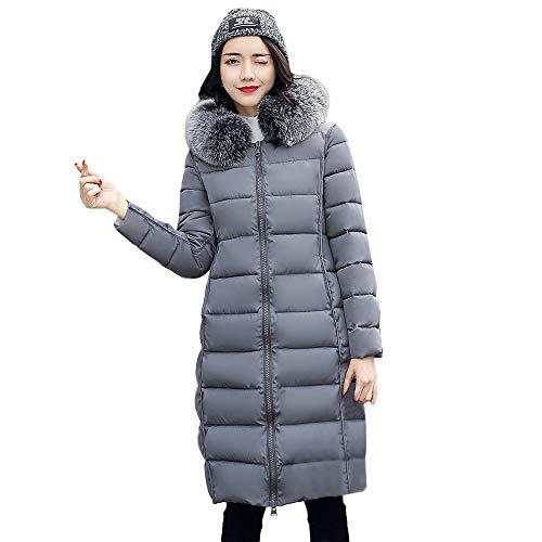 Chaud Longs Inversés Automne Capuche Femmes À Blouson Veste Femme En D'extérieur Manteaux Manteau Coton Pour Vêtements Hiver Gris Fourrure Poches Zzzz qHWxIYwzZn
