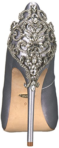 Mischka Pump Silver Women's Karolina Badgley 0Pwxg