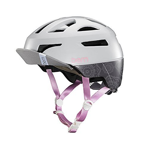 BERN Bike Parker MIPS Helmet - Women's Satin Grey Small ()