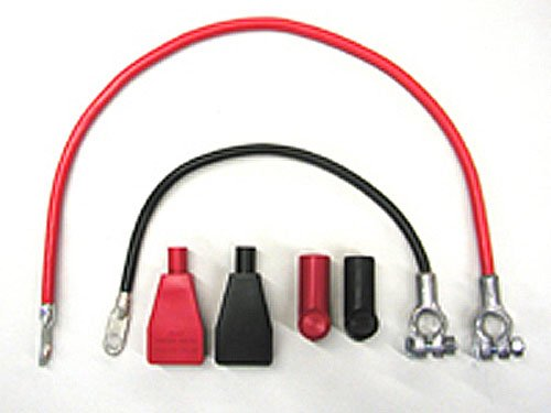 Rennline All All Battery Cable Kit for Kill Switch Installation - SAE Ter.