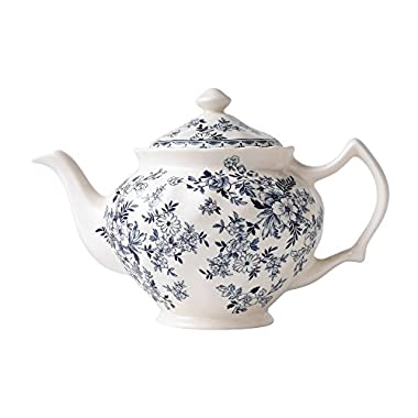 Johnson Brothers Devon Cottage Teapot 1.2 Qt, 1.2 quart, Multicolored