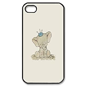 elephant 2015 hot Phone Case For Iphone 4 4S case cover TPUKO-Q758645