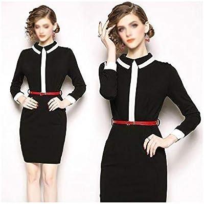 low priced good service big sale Dress Fashion Autumn New High-end White-Collar Professional Dress ...