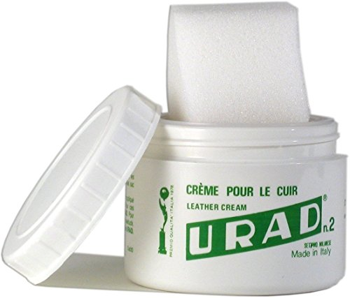 URAD 200 Leather Shoe & Boot Care Cream 7 oz. (200 g.), White (Leather Urad)