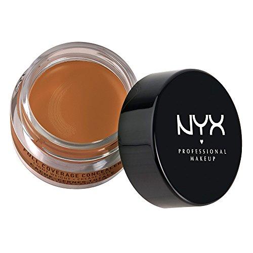 NYX Professional Makeup Concealer Jar, Deep Golden, 0.25 Ounce
