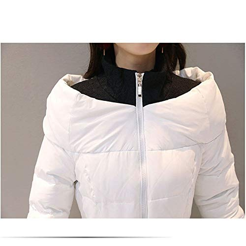 S Down Fxchen Coat Giacca Winter Plus Invernale Size Donna Parka Black Da Women Cotton Elegante Capispalla Wadded Long T0pfTAqU