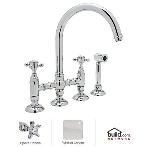 (ROHL A1461XWSAPC-2 KITCHEN FAUCETS Polished Chrome)